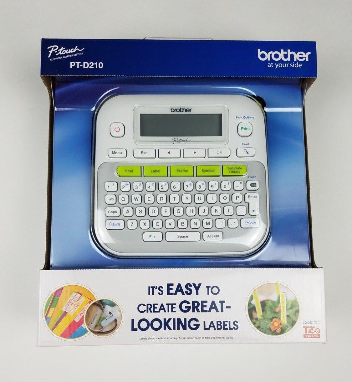 Brother PTD210 P-Touch Easy Compact Label Maker